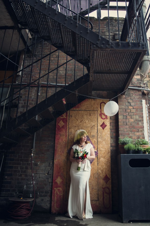 Indoor Festival Wedding at an Industrial Warehouse (40)