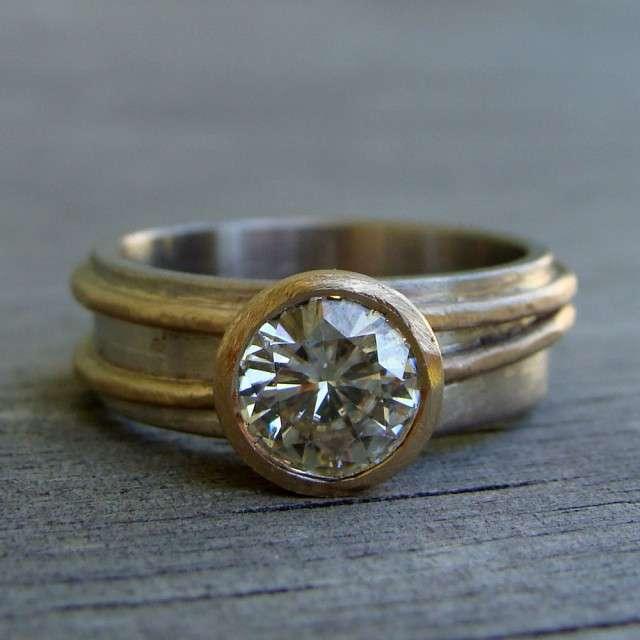 Mystic Topaz Wedding Rings 54 Stunning McFarlandDesigns