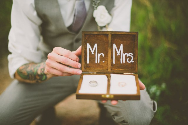 Rustic Vintage Outdoor Wedding - Malissa Ahlin Photography-26