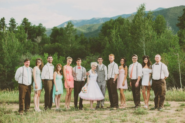 Rustic Vintage Outdoor Wedding - Malissa Ahlin Photography-63