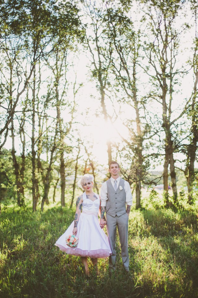 Rustic Vintage Outdoor Wedding - Malissa Ahlin Photography-71