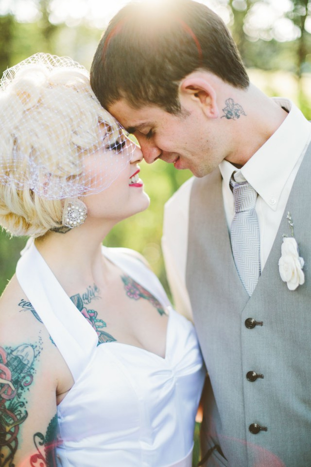Rustic Vintage Outdoor Wedding - Malissa Ahlin Photography-74