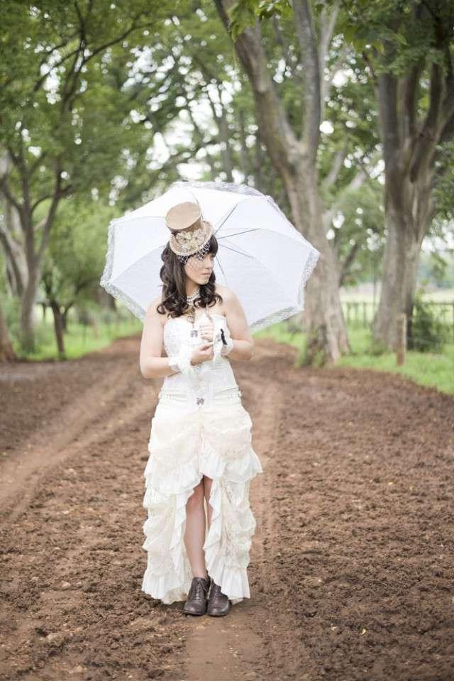 Steam Punk Wedding Dress 11 Spectacular South African Steampunk wedding