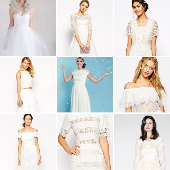 amazing wedding dresses under £250