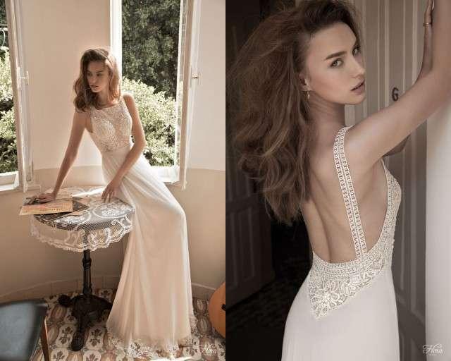 Flattering Wedding Dress 35 Elegant flora bridal nina natasha