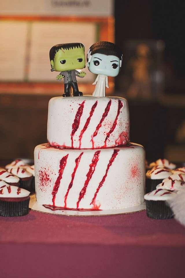Horror Themed Museum Wedding 183 Rock N Roll Bride