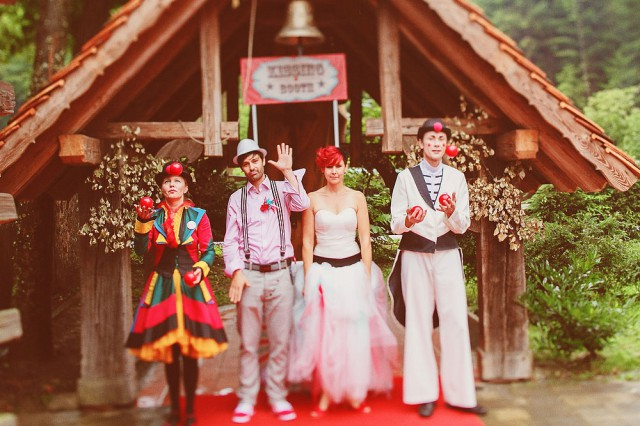 Slovenian circus wedding (11)