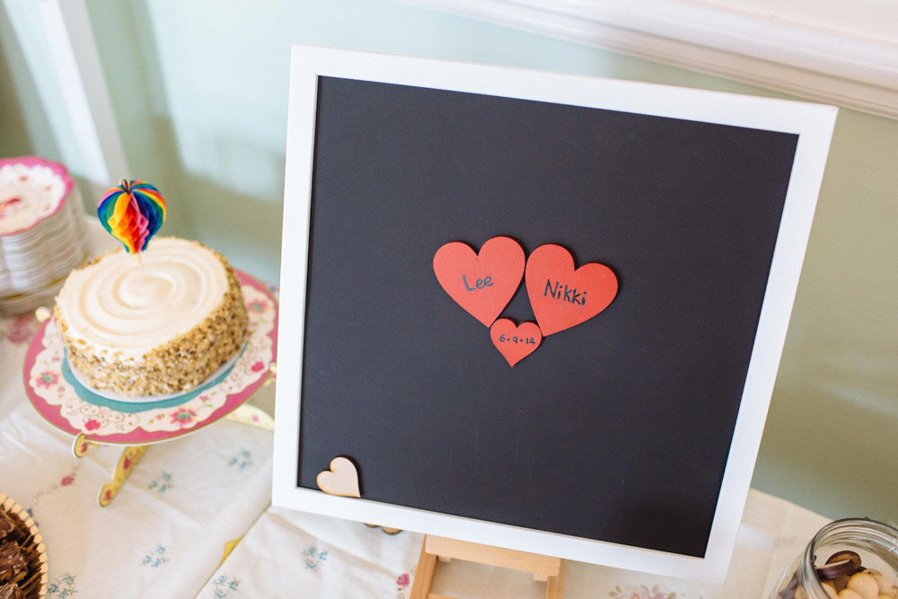 Colourful handcrafted wedding in london rock n roll bride for Doris middleman