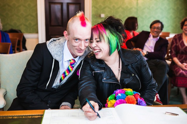 rainbow punk wedding (14)