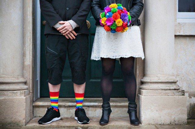 rainbow punk wedding (27)