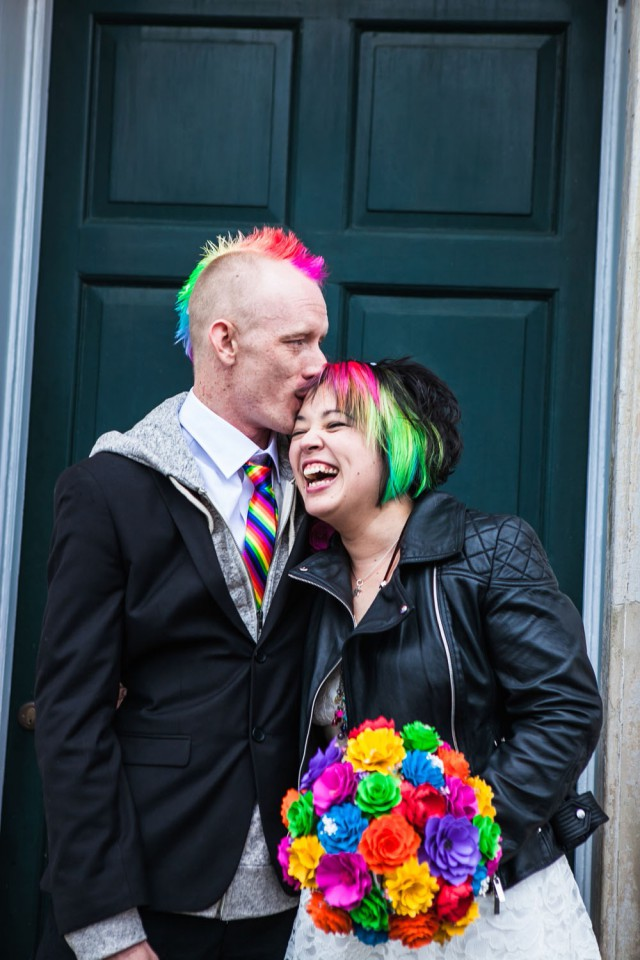 rainbow punk wedding (29)