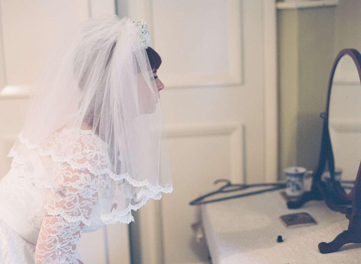 Sunflower & Flamingo Themed Retro Wedding · Rock n Roll Bride