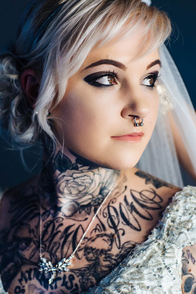 Disney inspired tattooed wedding (12)