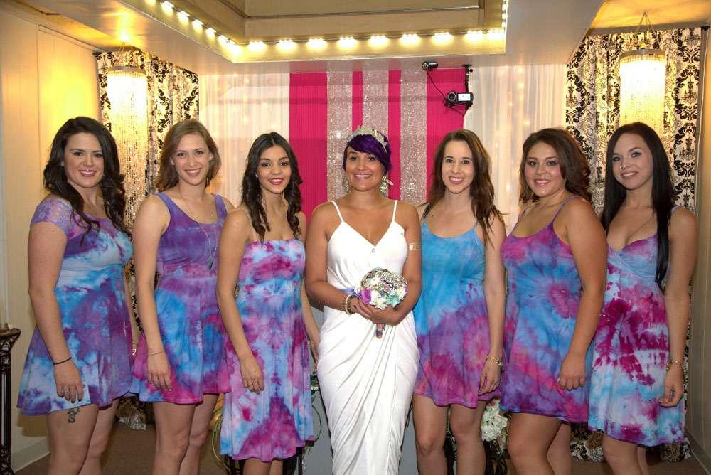 Hippies In The Vegas Desert Wedding7