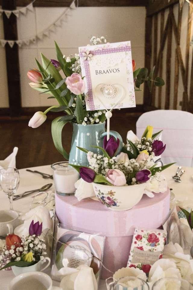 Shabby Chic Wedding Decor 8 Vintage Jennifer Langridge Wedding Photography