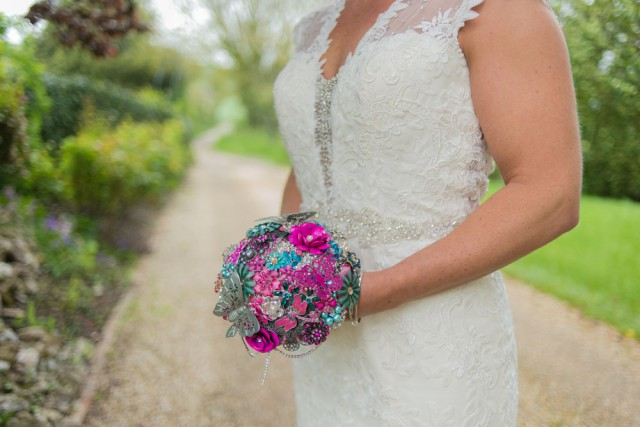 elizabeth rose events brooch bouquet (13)