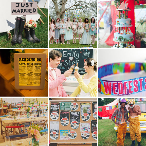 ideas for a festival themed wedding