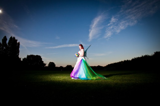 rainbow fairy wedding bride in wings (31)