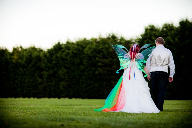 rainbow fairy wedding bride in wings (33)