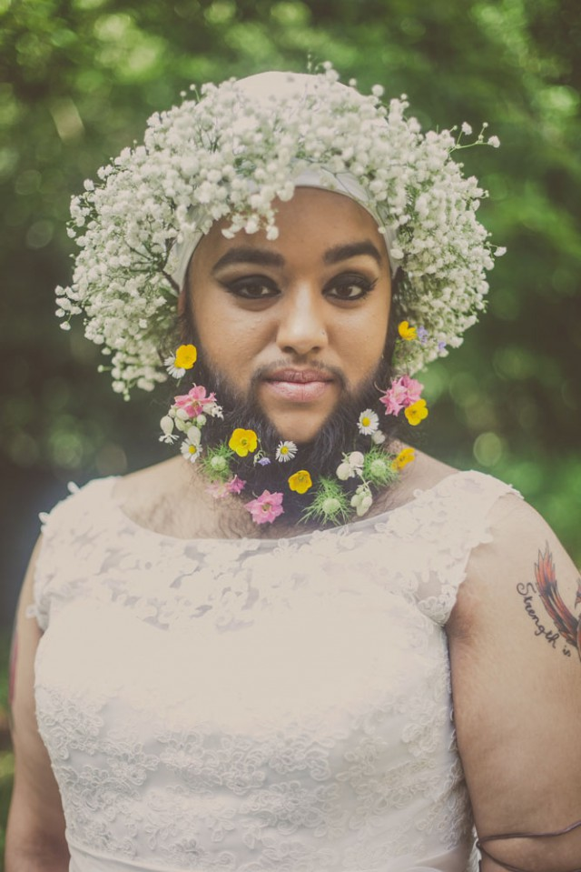 Harnaam Kaur bridal shoot lady beard (31)