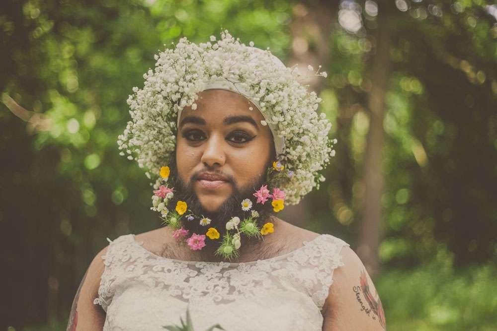 Flower beard bridals with harnaam kaur 183 rock n roll bride