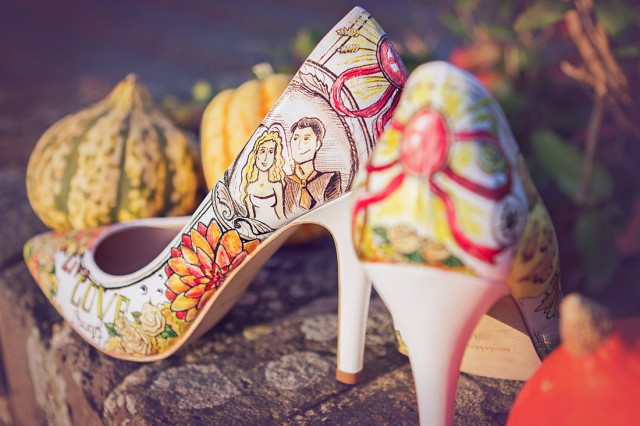 Win a Pair of Custom Designed, Hand Painted Wedding Shoes from Middo Shoes (14)