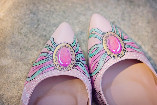 Win a Pair of Custom Designed, Hand Painted Wedding Shoes from Middo Shoes (3)