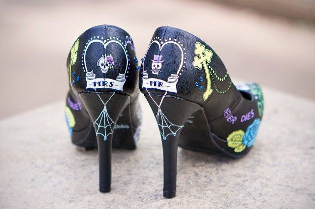 Win a Pair of Custom Designed, Hand Painted Wedding Shoes from Middo Shoes (6)