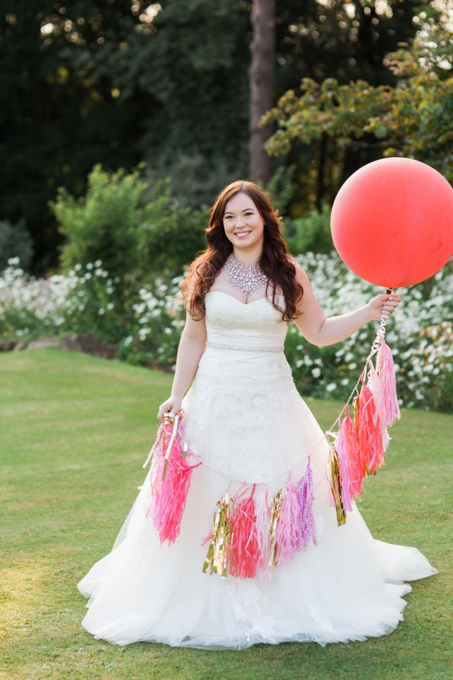 colourful kate spade inspired wedding in bristol. (61)