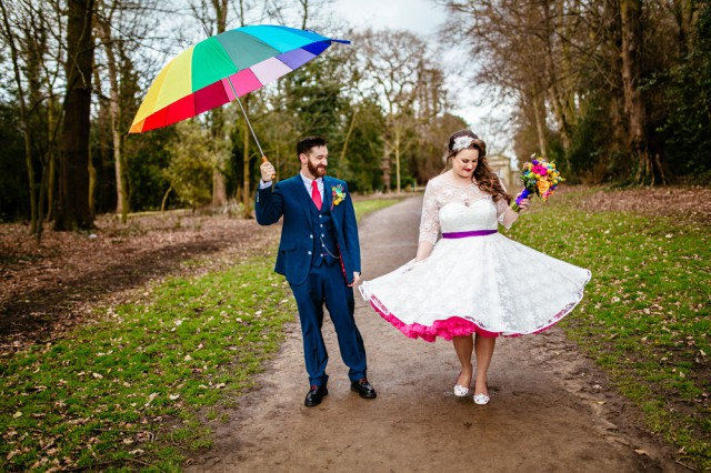 colourful rainbow rose and pixel wedding (53)