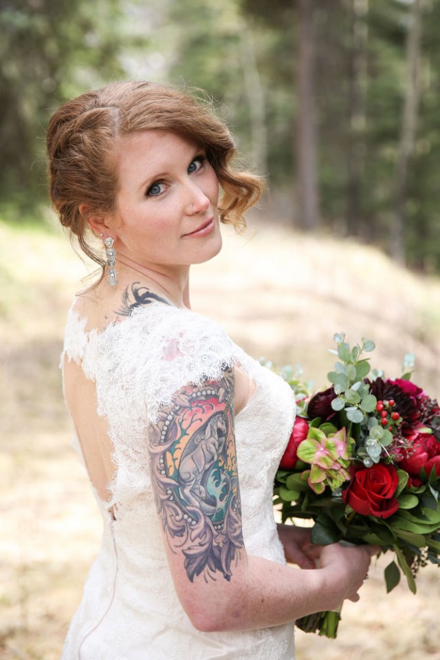 intimate mountain wedding (6)