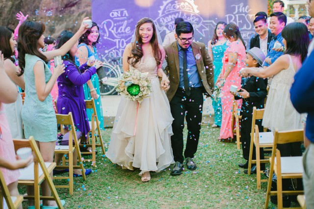 Do It Yourself Rustic Wedding In The Philippines Rock N Roll Bride