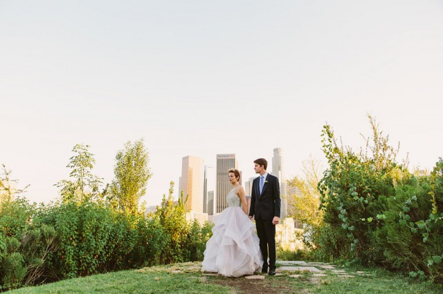 Intimate Los Angeles Wedding // Novel Hill