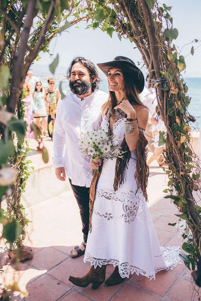 Casual Country Wedding Dresses 83 Fancy Casual Casares Costa wedding