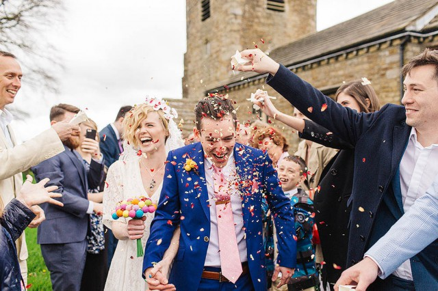 Colourful Utopia at Broughton Hall Wedding (28)