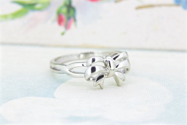 Wedding Ring Sets Under 500 98 Vintage Dainty Bow Stacking Ring