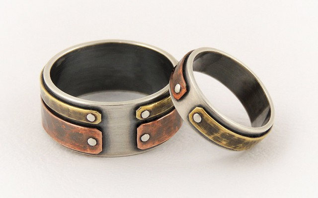 Stainless Steel Wedding Rings Sets 77 Best Silver Copper and Brass