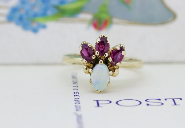 Mystic Topaz Wedding Rings 69 New Vintage Opal Cocktail Ring