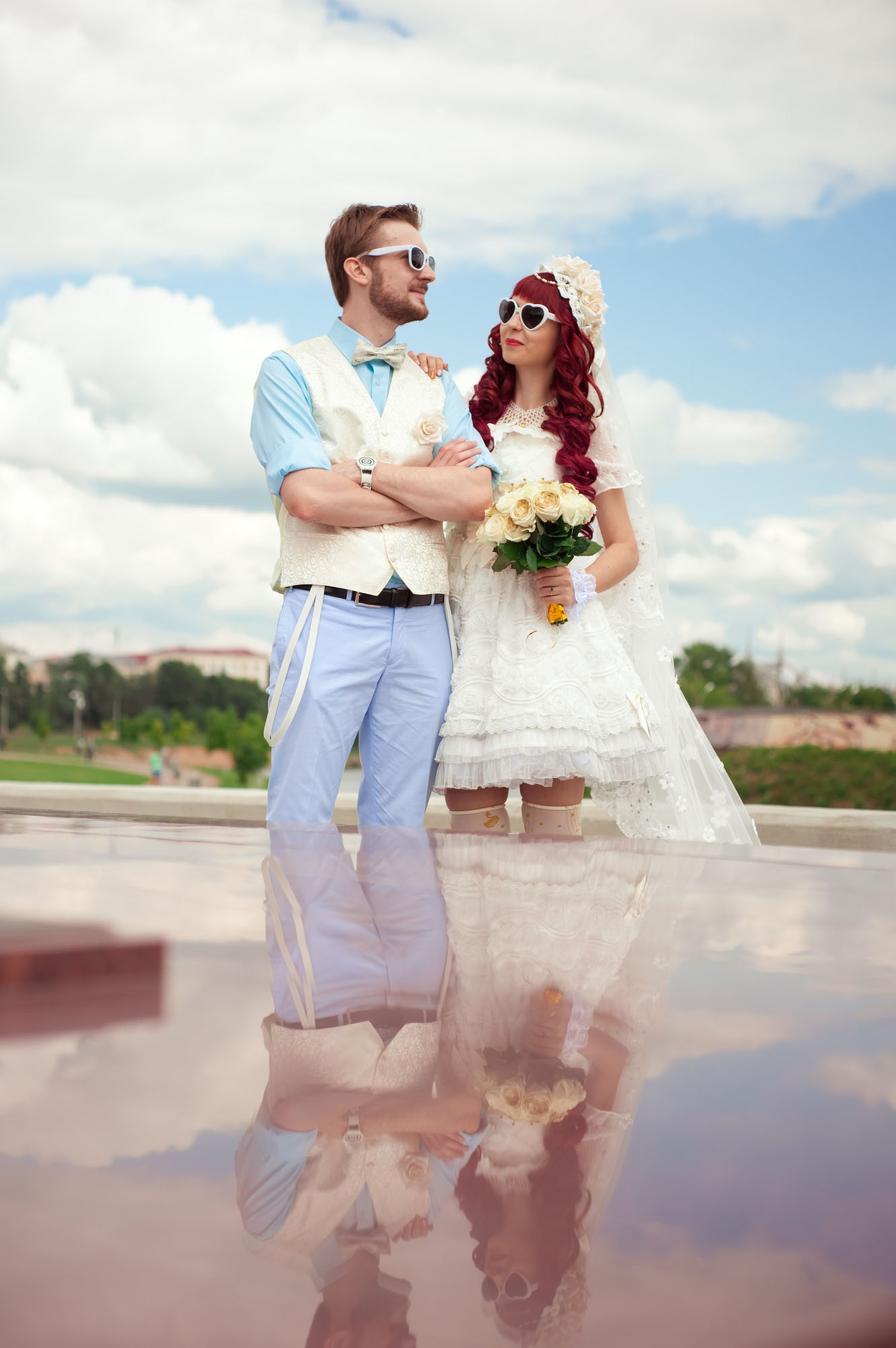 Anime Amp 1950s Inspired Wedding In Russia 183 Rock N Roll Bride