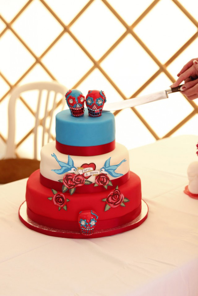 colourful pin up wedding (82)