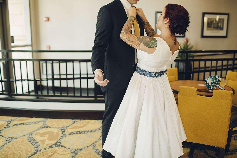 Simple and Intimate Star Wars Wedding · Rock n Roll Bride