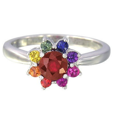 Mystic Topaz Wedding Rings 63 Awesome rainbow sapphire