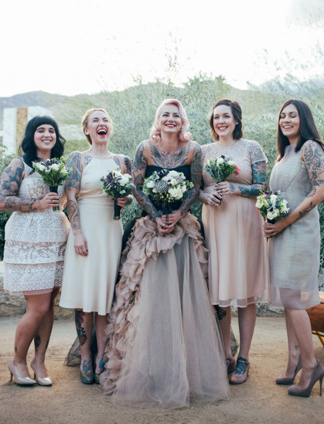 Iconic wedding at the Ace Hotel in Palm Springs