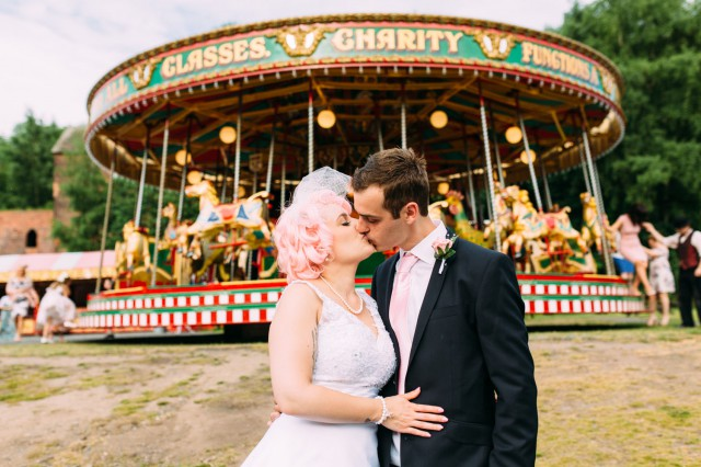 Retro Ironbridge Gorge Museum wedding (42)