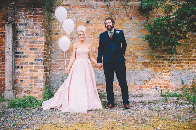 Vinyl Themed, Pink Dress & Beehive Smoke Bomb Wedding-Bridgwood Wedding Photography-513