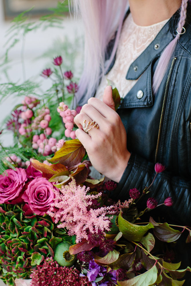 Crystal And Magic Inspired Witchy Bridal Shoot 183 Rock N