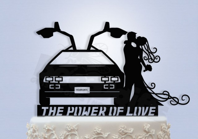 Delorean Cake Topper
