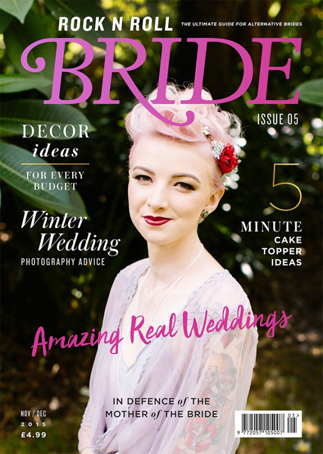 rocknrollbride magazine issue 5 cover