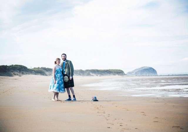 Budget-Friendly Scottish Beach Wedding · Rock n Roll Bride