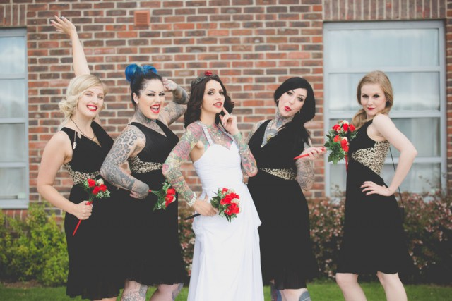 traditional wedding with a rocknroll twist (10)